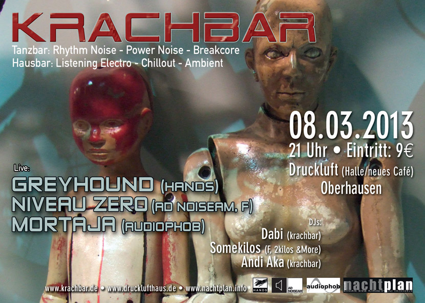 Krachbar Flyer 2013